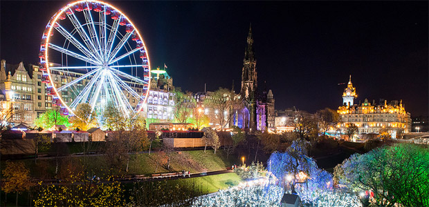 Image result for edinburgh winter wonderland